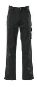 00299-430-09 Bukser med lårlommer - svart