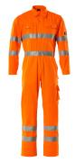 00419-860-14 Kjeledress med knelommer - hi-vis oransje