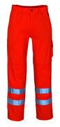 00479-860-14 Bukser med knelommer - hi-vis oransje