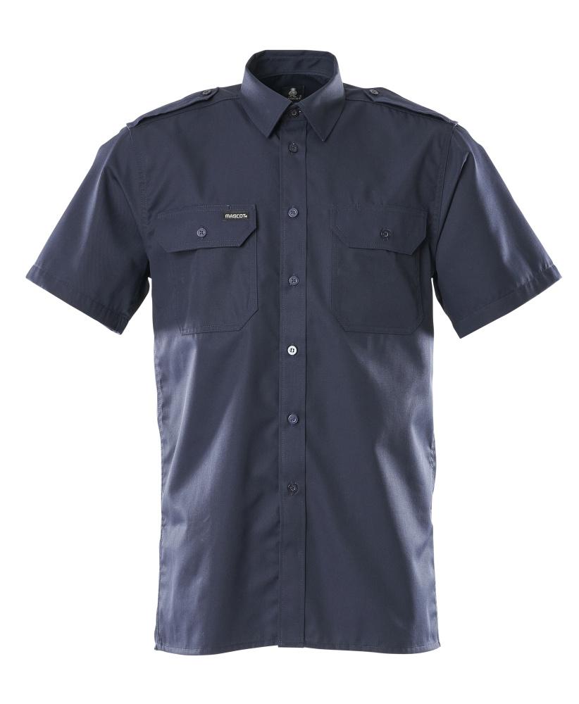 00503-230-01 Skjorte, kortermet - marine