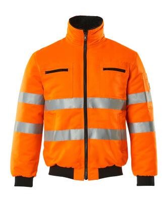 00516-660-14 Pilotjakke - hi-vis oransje
