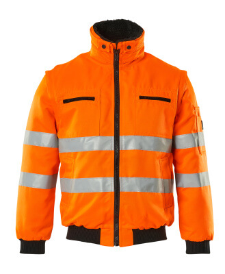 00520-660-14 Pilotjakke - hi-vis oransje