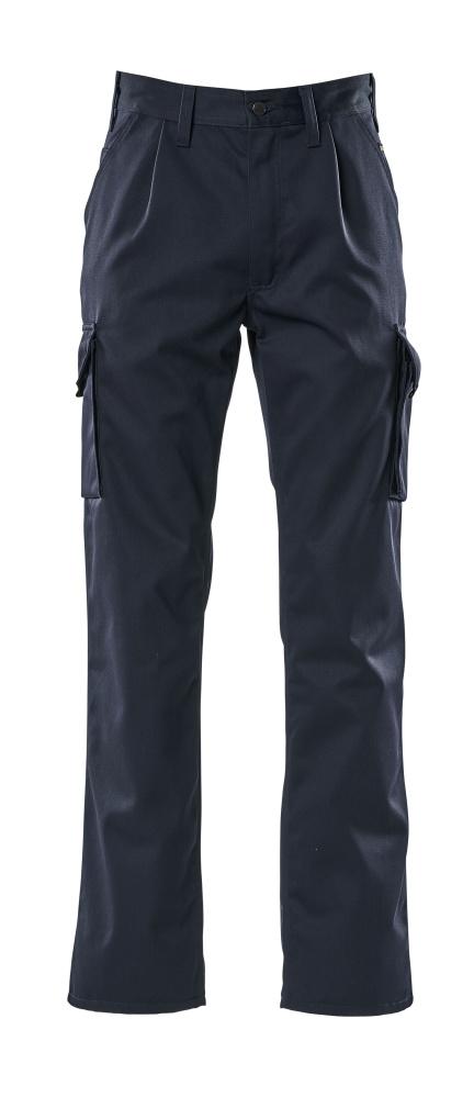 00773-430-01 Bukser med lårlommer - marine