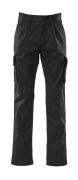 00773-430-09 Bukser med lårlommer - svart