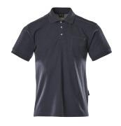 00783-260-01 Pikéskjorte med brystlomme - marine