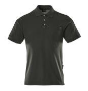 00783-260-09 Pikéskjorte med brystlomme - svart