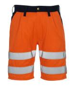 00949-860-141 Shorts - hi-vis oransje/marine