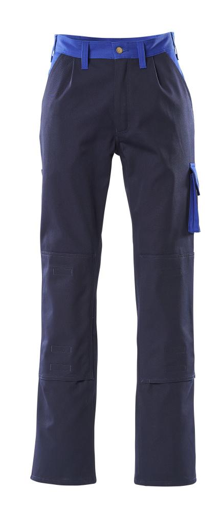 00955-630-111 Bukser med knelommer - marine/kobolt