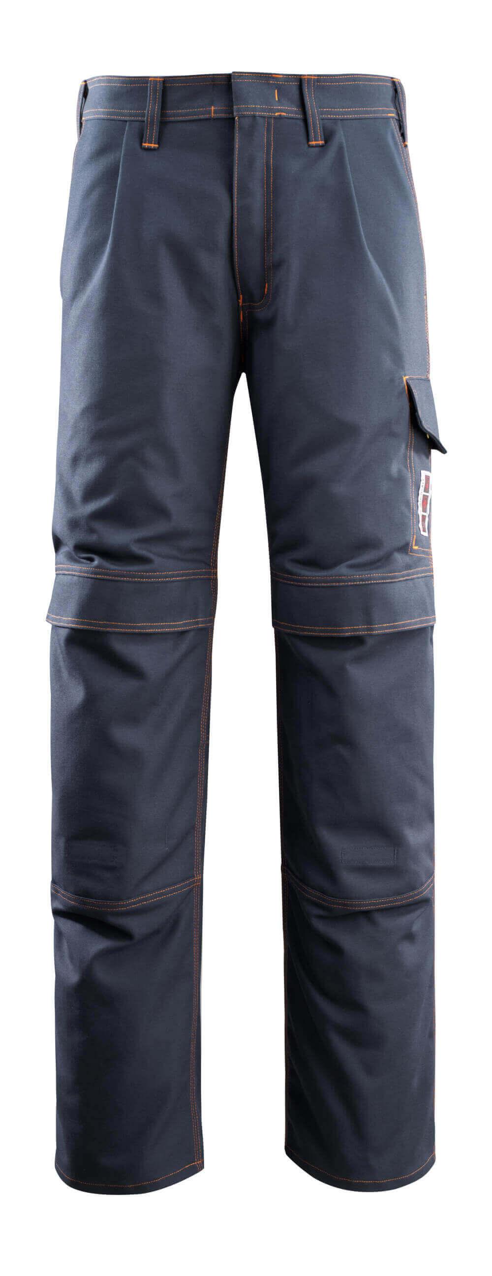 06679-135-010 Bukser med knelommer - mørk marine