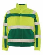 07109-470-1703 Jakke - hi-vis gul/grønn