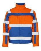 07109-860-1411 Jakke - hi-vis oransje/kobolt