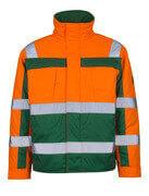 07123-126-1403 Pilotjakke - hi-vis oransje/grønn