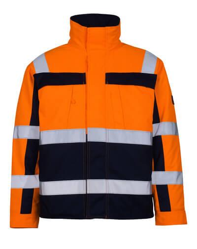 07123-126-141 Pilotjakke - hi-vis oransje/marine