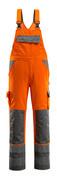 07169-860-14888 Overall med knelommer - hi-vis oransje/antrasitt