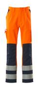 07179-860-141 Bukser med knelommer - hi-vis oransje/marine