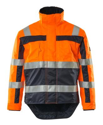 07223-880-141 Vinterjakke - hi-vis oransje/marine