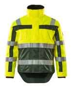 07223-880-1703 Vinterjakke - hi-vis gul/grønn