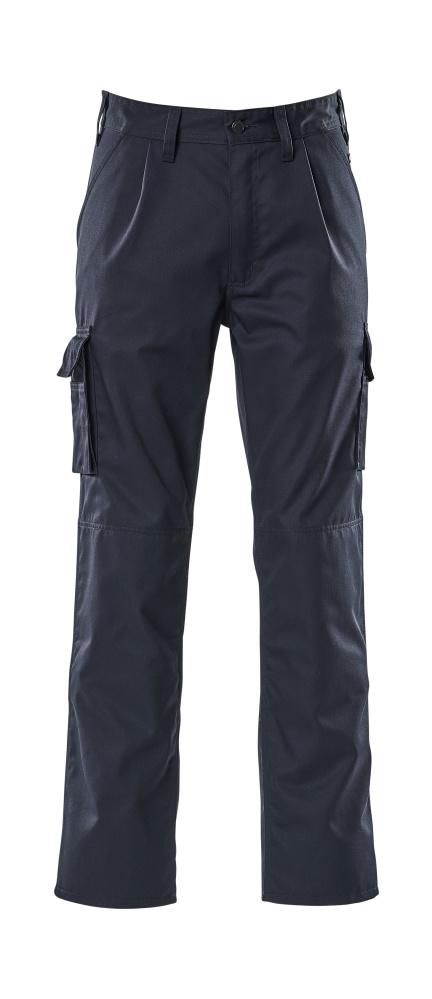 07479-330-01 Bukser med knelommer - marine