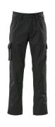 07479-330-09 Bukser med knelommer - svart
