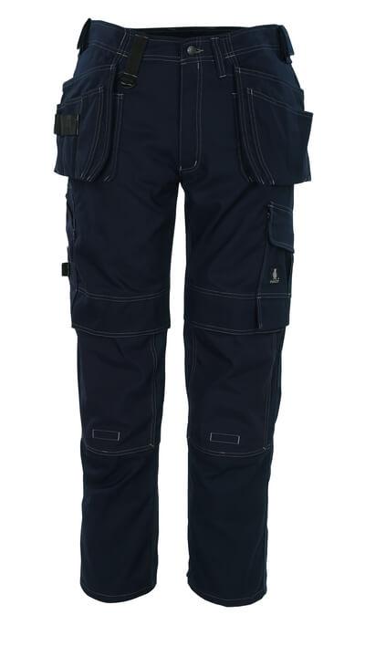 08131-010-01 Bukser med kne- og hengelommer - marine