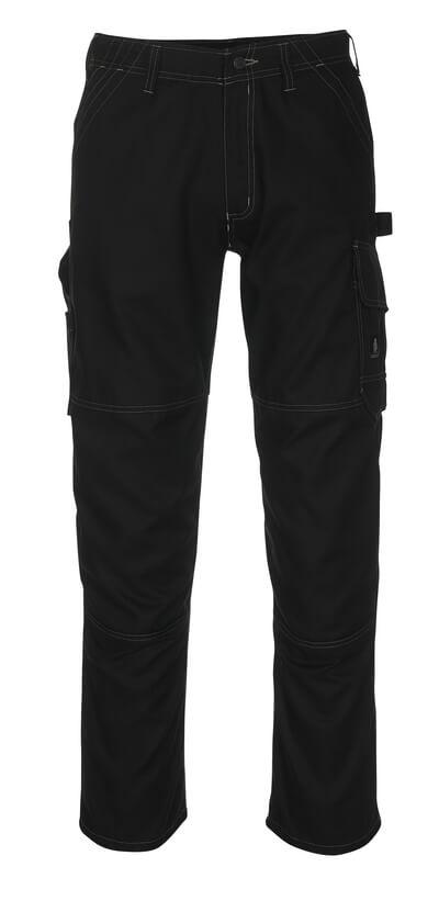 08679-154-09 Bukser med lårlommer - svart