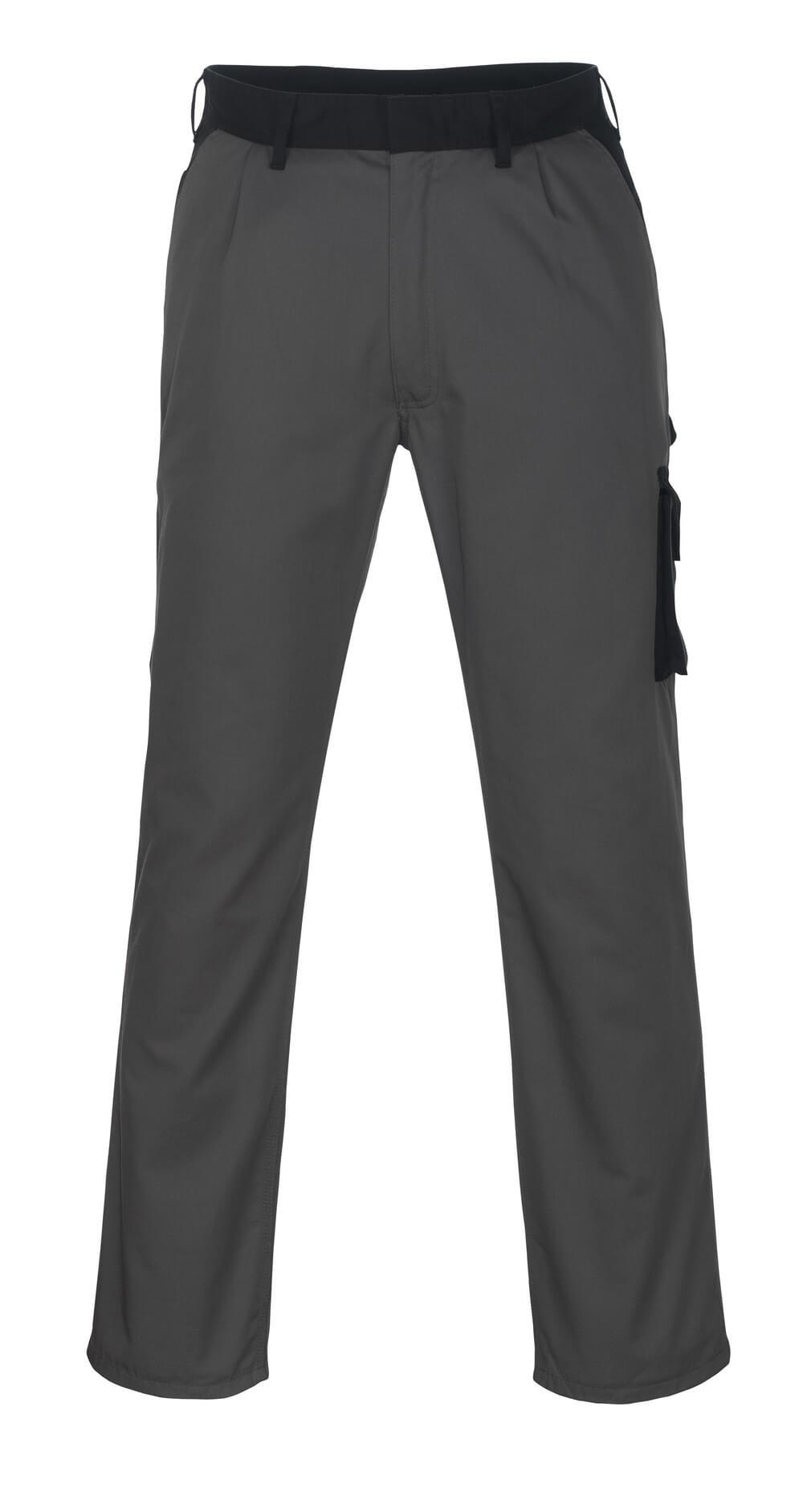 08779-442-8889 Bukser med lårlommer - antrasitt/svart