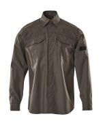 09004-142-18 Skjorte - mørk antrasitt