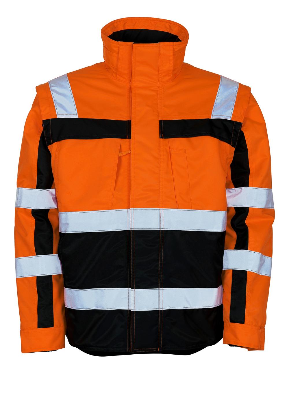 09335-880-141 Vinterjakke - hi-vis oransje/marine
