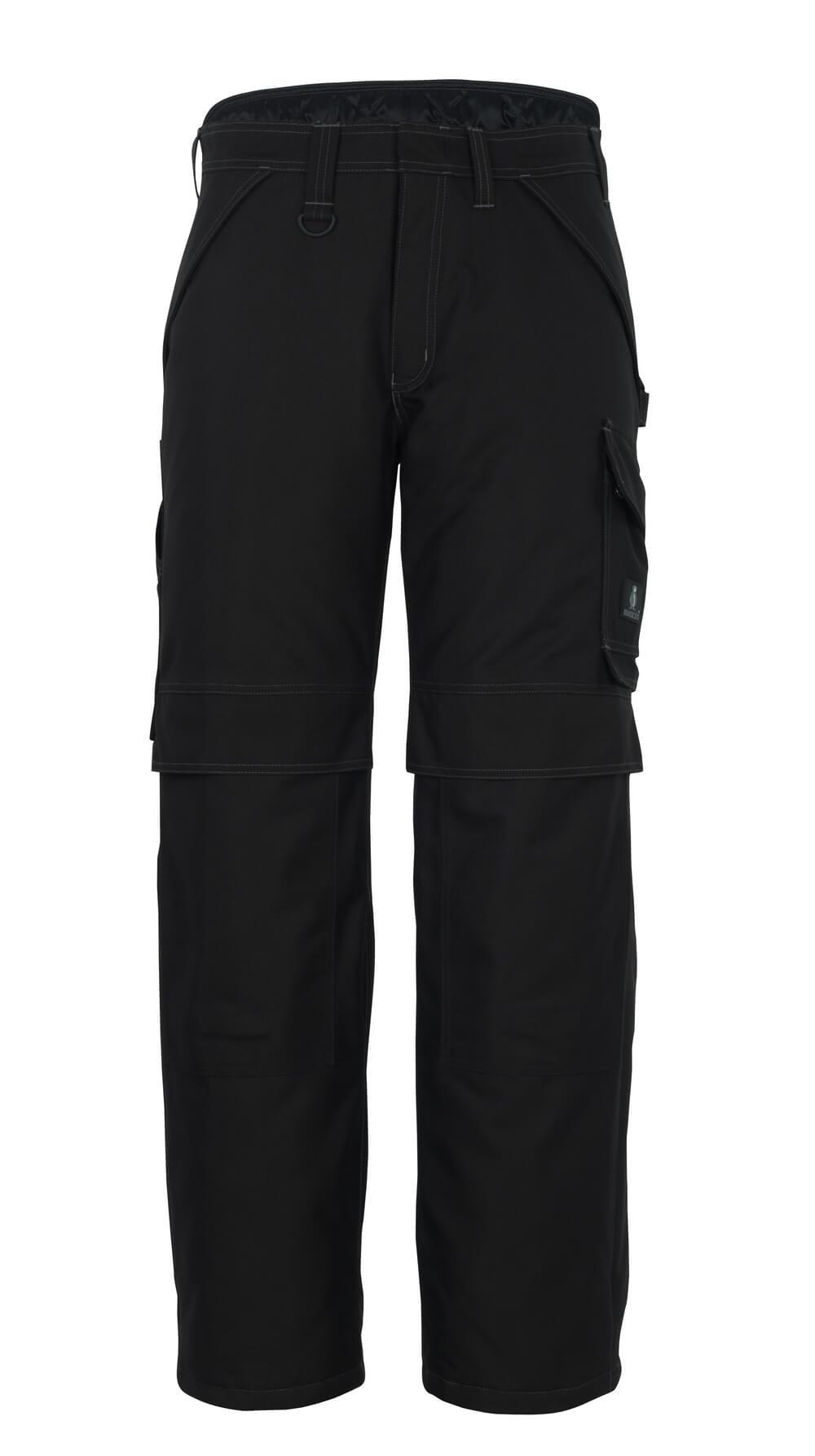 10090-194-09 Vinterbukse med knelommer - svart