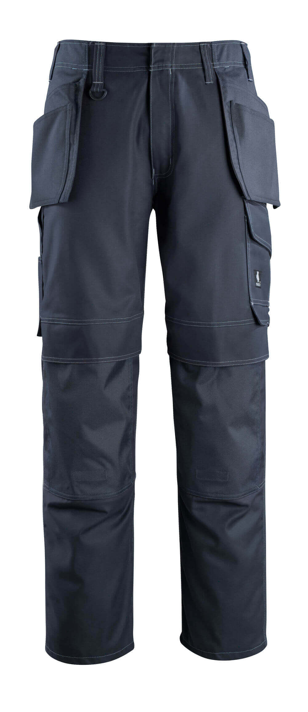 10131-154-010 Bukser med kne- og hengelommer - mørk marine