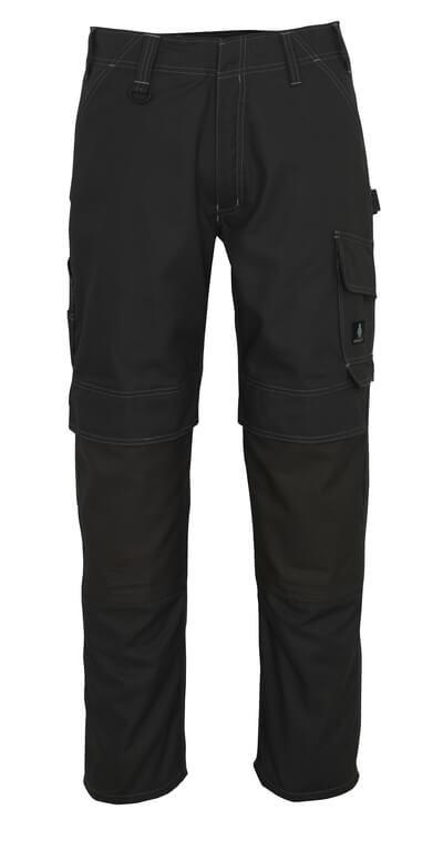 10179-154-010 Bukser med knelommer - mørk marine