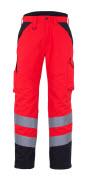 11090-025-A49 Vinterbukse - hi-vis rød/mørk antrasitt