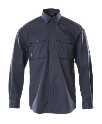12004-530-010 Skjorte - mørk marine