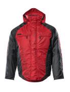 12035-211-0209 Vinterjakke - rød/svart