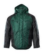 12035-211-0309 Vinterjakke - grønn/svart