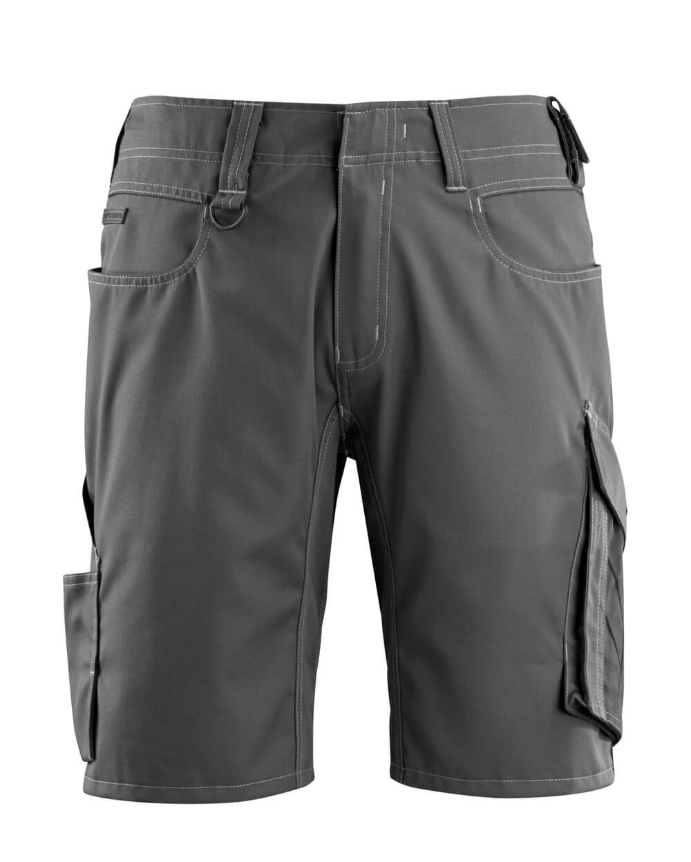 12049-442-1809 Shorts - mørk antrasitt/svart