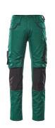 13079-230-0309 Bukser med knelommer - grønn/svart