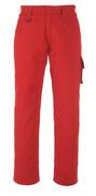 13579-442-02 Bukser med lårlommer - rød