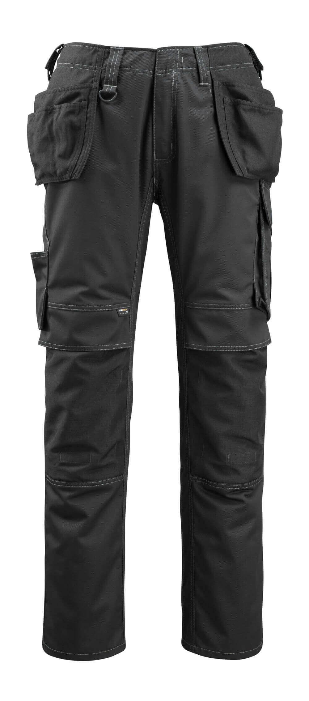 14131-203-09 Bukser med hengelommer - svart