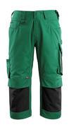 14149-442-0309 Piratbukser med knelommer - grønn/svart