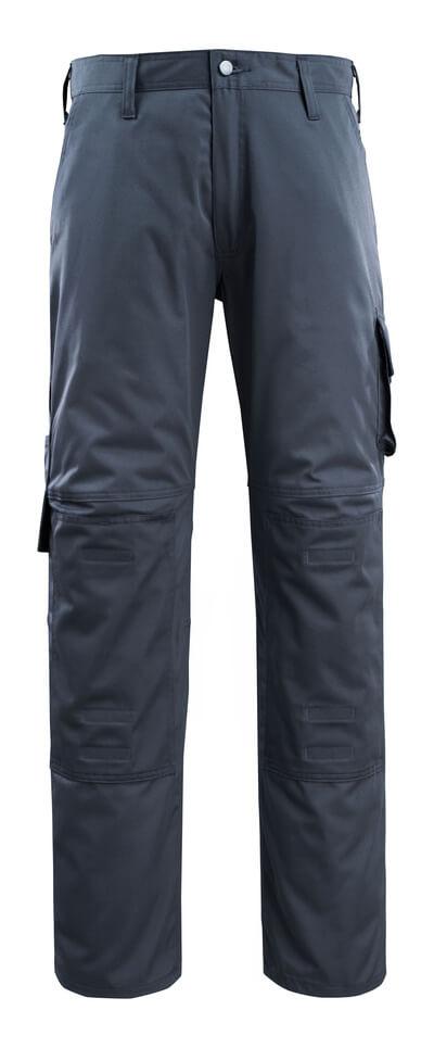 14379-850-010 Bukser med knelommer - mørk marine