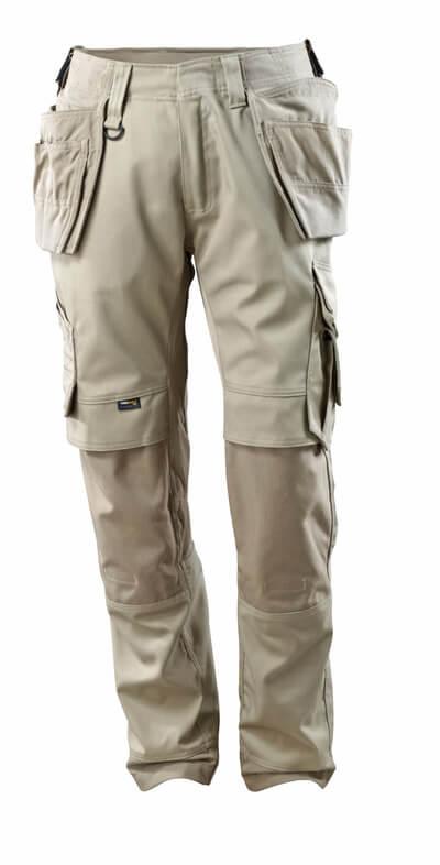 15031-010-010 Bukser med kne- og hengelommer - mørk marine