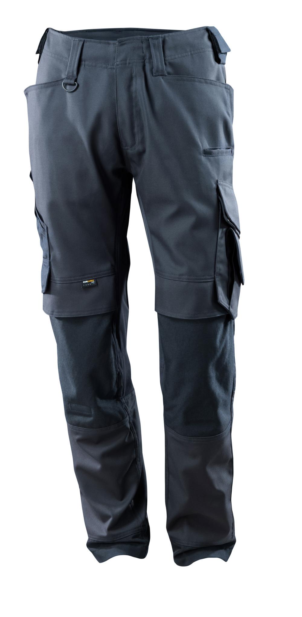 15079-010-010 Bukser med knelommer - mørk marine