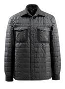15104-998-09 Skjorte med fôr - svart