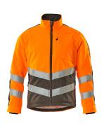 15503-259-1418 Fleecejakke - hi-vis oransje/mørk antrasitt