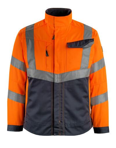 15509-860-14010 Jakke - hi-vis oransje/mørk marine