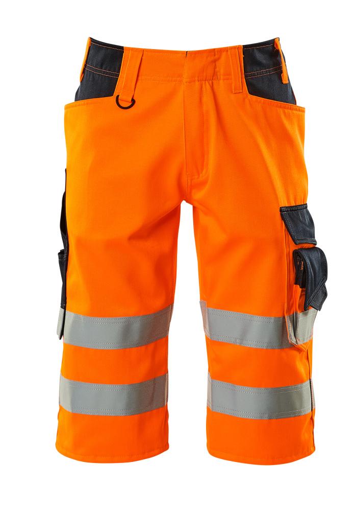 15549-860-14010 Piratbukser - hi-vis oransje/mørk marine
