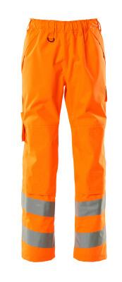 15590-231-14 Overtrekksbukse med knelommer - hi-vis oransje