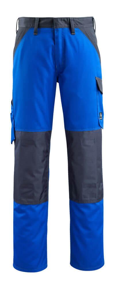 15779-330-11010 Bukser med knelommer - kobolt/mørk marine