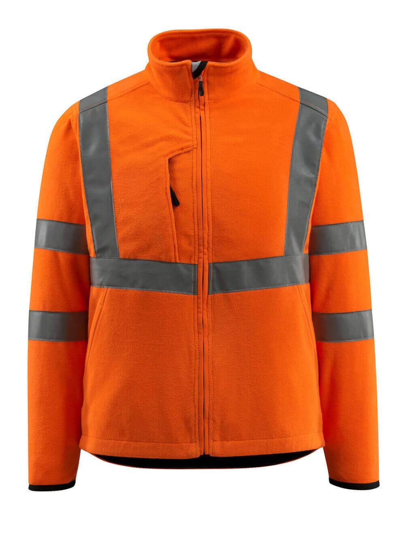 15903-270-14 Fleecejakke - hi-vis oransje